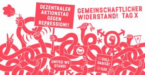 """Die Rondenbarg-Massenprozesse beginnen – Tag X ist der 28. November 2020! (Kampagne """"Gemeinschaftlicher Widerstand"""")"""