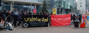 Bundesweite Solidaritäts-Aktionen zum Prozessbeginn